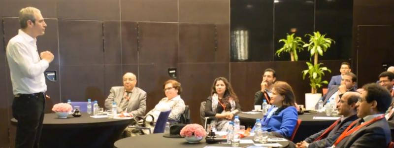 A la rencontre des dirigeants à Casablanca le 3 mars 2016